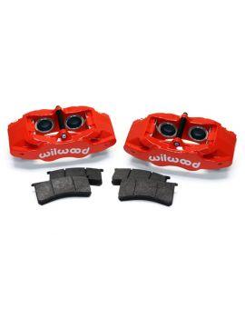 97-13 Wilwood Direct Fit SL56 Front Brake Caliper & Pad Kit (BrakeColor)
