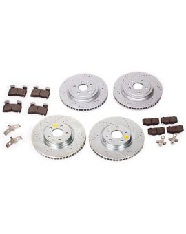 14-18 J55 (Z51) Power Stop Drilled & Slotted Rotors w/ Z23 Brake Pads (Full-Cast Rotors)