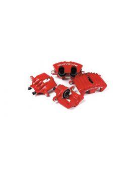 1997-2004 Corvette Z06 Brake Caliper Kit (Red Calipers)