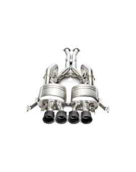 14-18 Akrapovic Evolution Titanium Cat-Back Exhaust System w/Carbon Tips