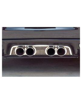 2006-2013 Corvette Z06 & NPP Laser Mesh Exhaust Port Filler Panel