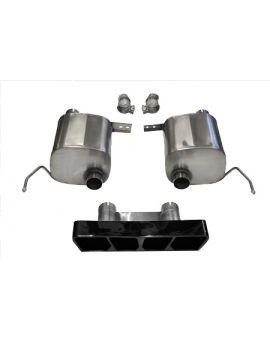 14-18 Corsa Sport Valve Back Exhaust System w/Black Polygon Tip (Default)