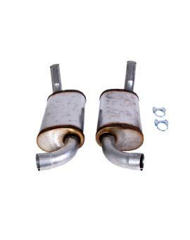 "78-82 2 1/2"" Magnaflow Aluminized Mufflers"