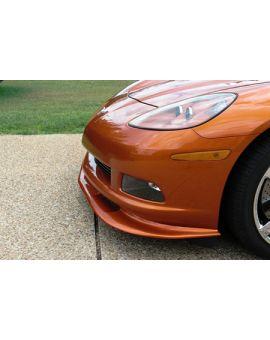 2005-2013 Corvette (Non Z06/GS)  ZR1 Front Splitter (Fiberglass)