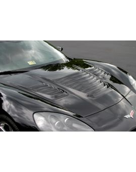 2005-2013 Corvette World Challenge Louvered Hood (RTM)