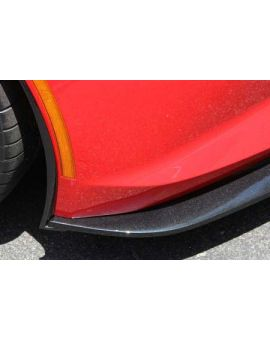 Installed Front Splitter Side Deflectors (Style)