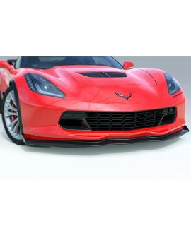 14-18 ACS Z06 Front Splitter w/Undertray (No Deflectors) (Style)