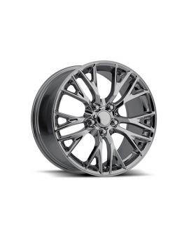 "05-18 ""Z06 Style"" Black Chrome Wheel Set"