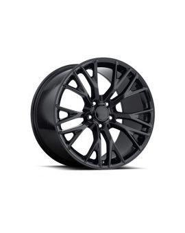 """05-18 """"Z06 Style"""" Gloss Black Wheel Set"""