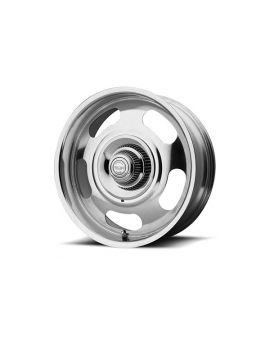68-82 17x8 American Racing Aluminum Rally Wheel (Fully Polished)