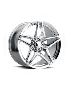 06-13 Z06/GS C7 ZR1 Chrome Wheel Set (18x9.5/19x12)