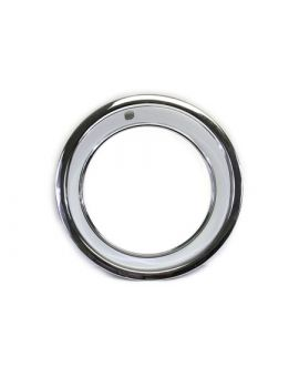 1969-1982 Corvette Rally Wheel Trim Ring (Stainless)