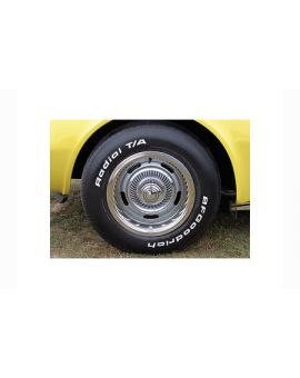 1969-1982 Corvette Rally Wheel Package w/Stainless Trim Rings