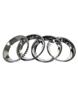 1967 Corvette 15 x 6 Rally Wheel Trim Ring Set (4)