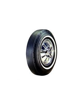 """62-64 670-15 Goodyear Super Cushion Tire - 1"""" Whitewall"""