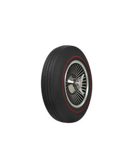 67 775-15 Firestone Tire - Redline