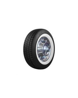 56-61 205/75R15 BF Goodrich Silvertown Radial Tire - Wide Whitewall