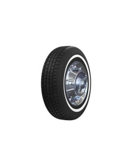 """62-67 205/75R15 American Classic Radial Tire - 1"""" Whitewall"""