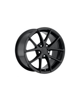 """88-04 C6 Z06 Spyder Black Wheel Set (17x8.5""""/18x9.5"""")"""
