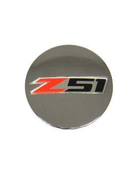 "14-18 ""Z51"" Chrome Wheel Center Cap (Default)"