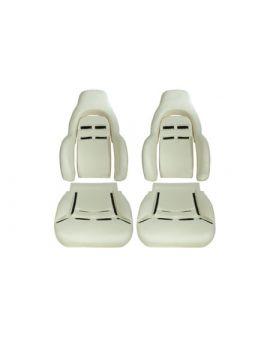 1997-2004 Corvette Sport Seat Foam Cushion Set (6PC)
