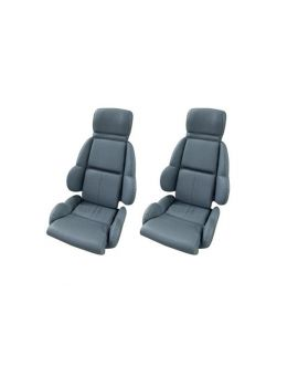 89-92 STD Mounted Seat Covers & Foam (Leather)