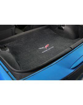 2013 Coupe Corvette Lloyd Ultimat Cargo Mat w/60th Logo & Corvette Script