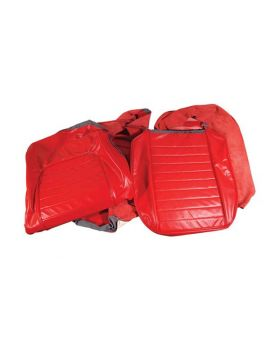 59 Leather Seat Covers in Red