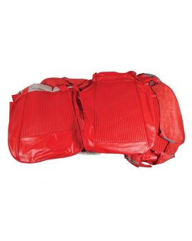 61 Leather Seat Covers in Red