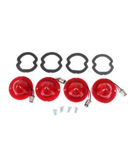 61-67 LED Tail Lamp Lens & Gasket Set