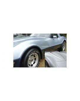 1981-1982 Corvette Two-Tone Paint Body Stripe Kit