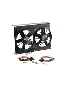 2005-2013 Corvette Dual Fan Cooling System Upgrade Kit