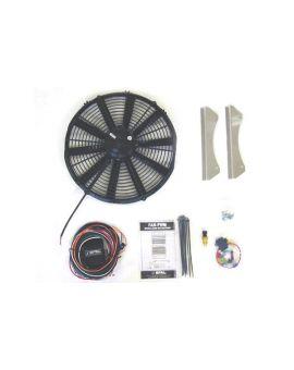 "66-82 16"" SPAL Electric Fan Kit (Default)"