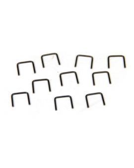 1956-1982 Corvette Stainless Staples (10)