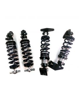 88-96 Front & Rear Coilover System (Double Adjustable - Aggressive Springs)