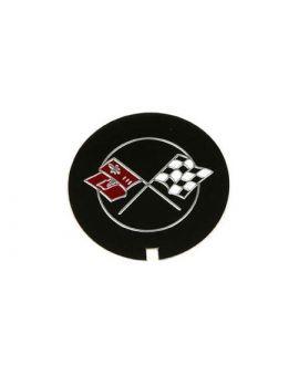 1970-1982 Corvette Valve Cover Emblem Decal