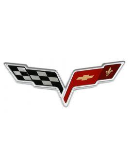 2005-2008 Corvette Nose Emblem (+Optional Uses)
