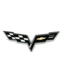 2005-2013 Corvette 100th Anniversary Rear Emblem