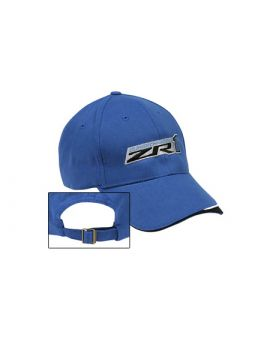 ZR1 Corvette Supercharged Blue Wave Cap