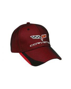 C6 Twill & Mesh Cap
