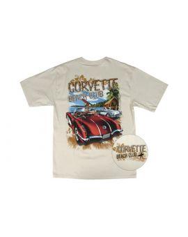 Corvette Beach Club T-Shirt