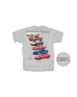 Nothing But Corvette T-Shirt (Apparel Sizes)