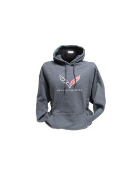 C7 Corvette Stingray Hooded Sweatshirt (Apparel Color_Apparel Sizes)