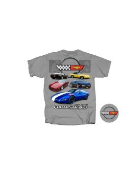 Fantastic C4 Corvette Gray T-Shirt