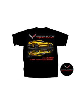 C7 Corvette Z06 Where Track Meets Street T-Shirt