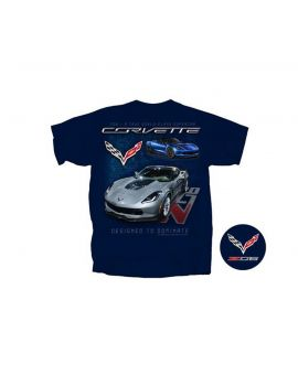 C7 Corvette Z06 Designed to Dominate T-Shirt