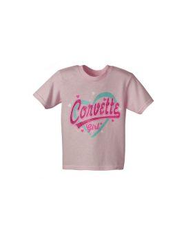 Corvette Girl Toddler Tee