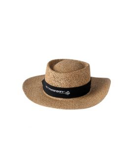 Corvette Stingray Straw Hat w/ Twill Band