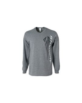 Corvette Stingray Vertical Long Sleeve T-Shirt