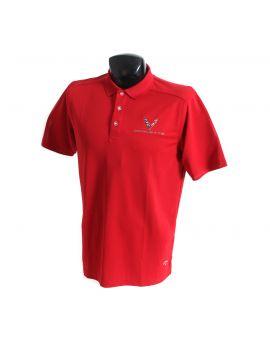 Next Generation Corvette Callaway Dry Core Polo Shirt
